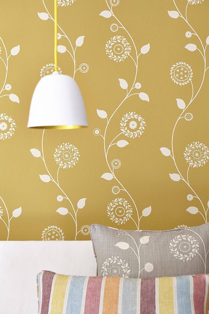 Gypsy Garland Wall Covering  - Saffron