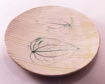 Ceramica fatta a mano piatto moderno fatto a di CeramicsNaturalist