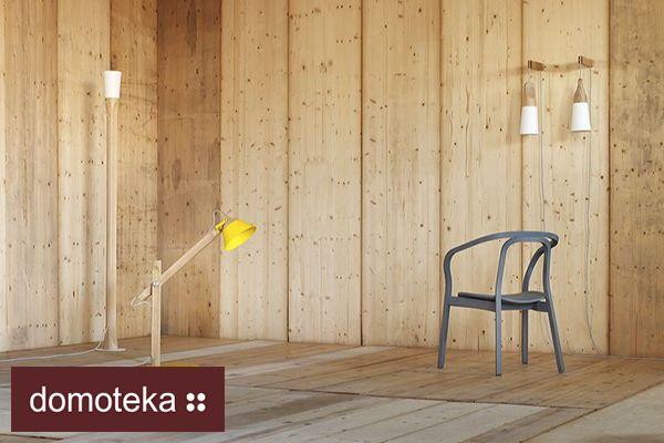 Lampa podłogowa o bardzo prostej, a zarazem eleganckiej formie. Lampa posiada solidną drewnianą podstawę, która ma kształt prostego, wysokiego słupa zakończonego kloszem. Klosz to połączenie drewna i metalu w klasycznej, prostej formie. Lampa prezentuje się bardzo nowocześnie i doskonale koresponduje z minimalistycznymi aranżacjami. Dostępna w dwóch wersjach kolorystycznych. NAP