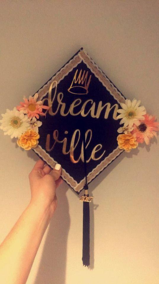 My J Cole inspired graduation cap #dreamville #jcole #MSU #ClassOf2017 #collegegraduation -