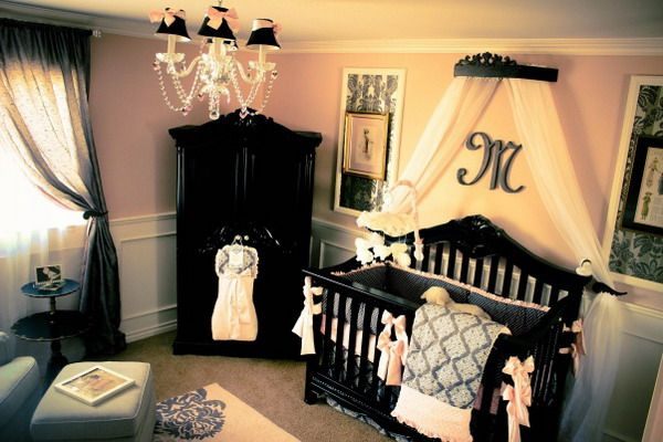 Classic Baby Nursery Ideas / I want a girl just so I can decorate her room like this!!!
