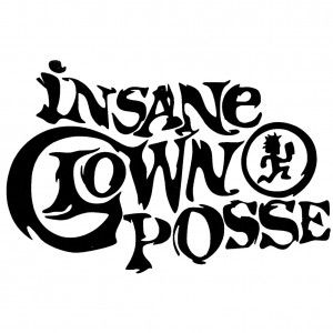 Insane Clown Posse Logo Peel & Rub Sticker
