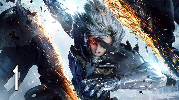 Metal Gear Rising: Revengeance - Walkthrough Part 1 Gameplay