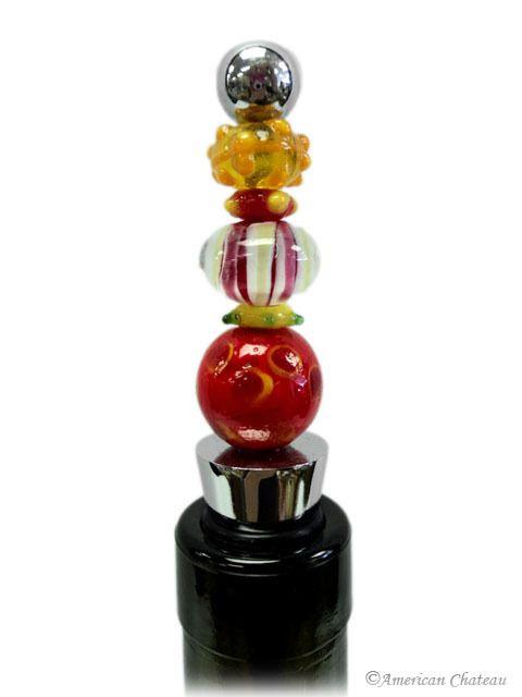 American Chateau - Murano Art Glass Sculpture Blown Wine Bottle Stopper ET4ND052, C$9.12 (http://www.americanchateau.com/Murano-Art-Glass-Sculpture-Blown-Wine-Bottle-Stopper-ET4ND052/)