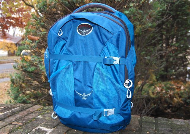 Small Travel Backpack: Osprey Farpoint 40 Review