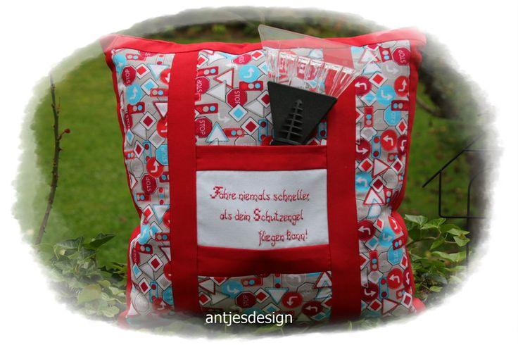kissenbez ge geschenk zum neuen auto f hrerschein. Black Bedroom Furniture Sets. Home Design Ideas