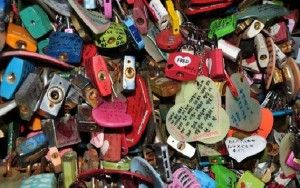 Namsan Park Love Locks