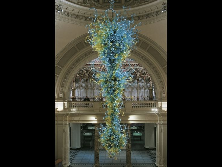 38 best chandeliers towers images on pinterest dale chihuly this divine creation is by the glass genius dale chihuly and you can actually visit it in london aloadofball Images