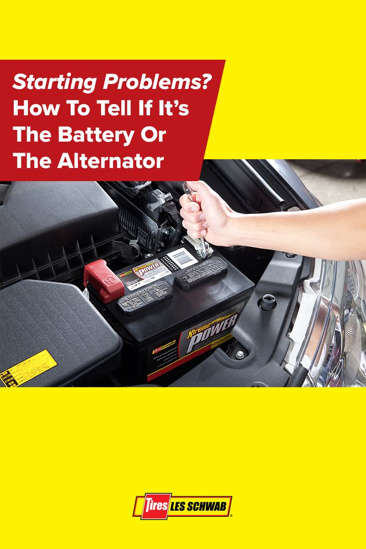 Starting Problems? Is it the Battery or Alternator? in
