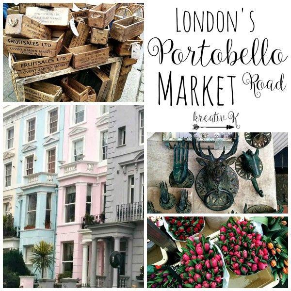 London's Portobello Road Market