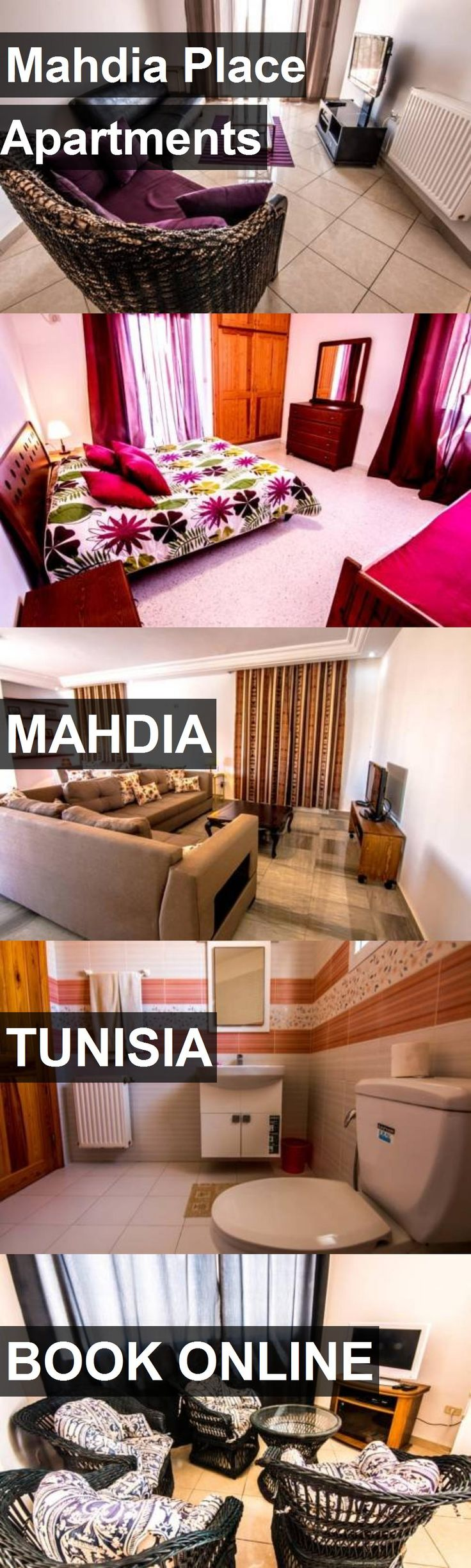 Mahdia Place Apartments in Mahdia, Tunisia. For more information, photos, reviews and best prices please follow the link. #Tunisia #Mahdia #travel #vacation #apartment
