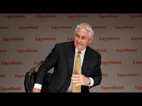 Did Rex Tillerson Own Millions in Exxon Stock as Trump Promoted Company? - YouTube