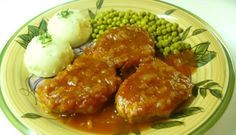 Côtelettes de porc au four tendres et légèrement sucrées, un délice