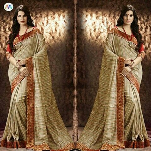 Elegance and charm for you in the designer exclusive Bhagalpuri silk
