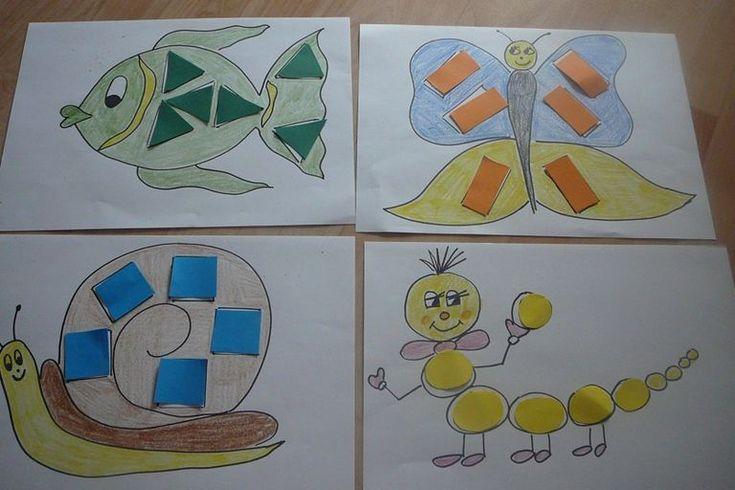 Tvořeníčko – hrajeme si s geometrickými tvary