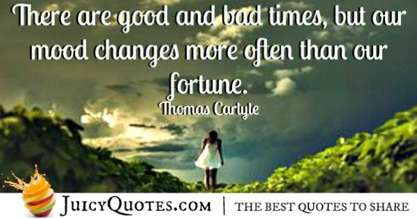 Quote About Change - Thomas Carlyle