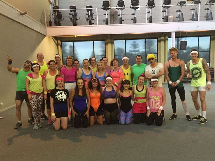 80s Gym Day