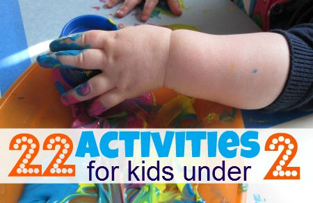 Great list of activities for toddlers.