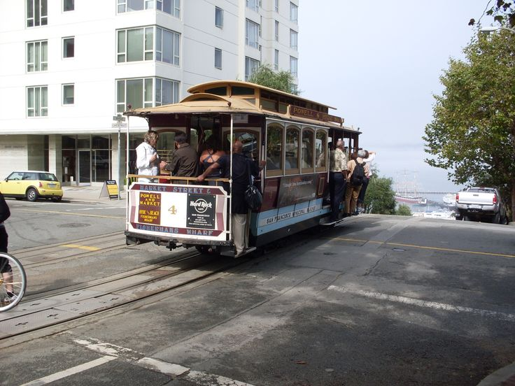 how to catch a trolley in san francisco
