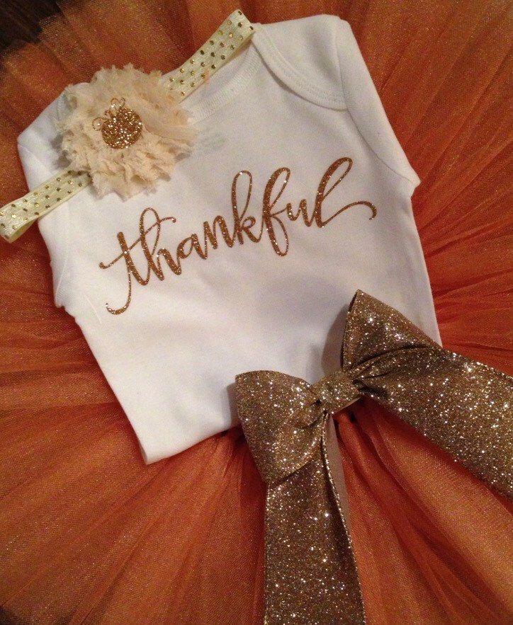 Thanksgiving Tutu Set // First Thanksgiving Tutu // Fall Tutu Set // Autumn Tutu // Orange Tutu // Fall Photo Shoot by LittlePrincessBottom on Etsy https://www.etsy.com/listing/252866864/thanksgiving-tutu-set-first-thanksgiving