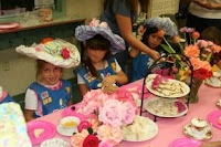 Party Wishes: Daisy Girl Scout Tea Party - decorate hats - so cute! earn a patch too!