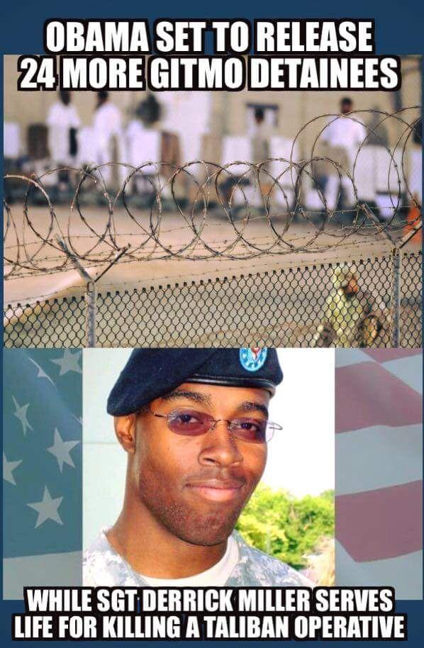 RNR Kentucky (@RNRKentucky) | Twitter While Obama Releases GITMO terrorist Sgt. Miller Sits in Prison. #priorities #RedNationRising #WednesdayWisdom