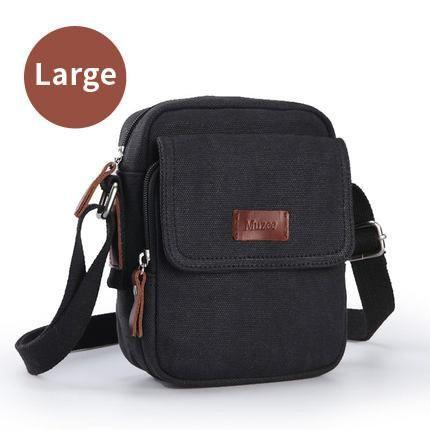 High Quality Men's Canvas Crossbody Bag 2017