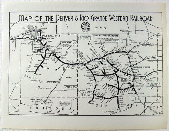 denver and rio grande western railroad map Denver Rio Grande Railroad Map Yahoo Image Search Results denver and rio grande western railroad map