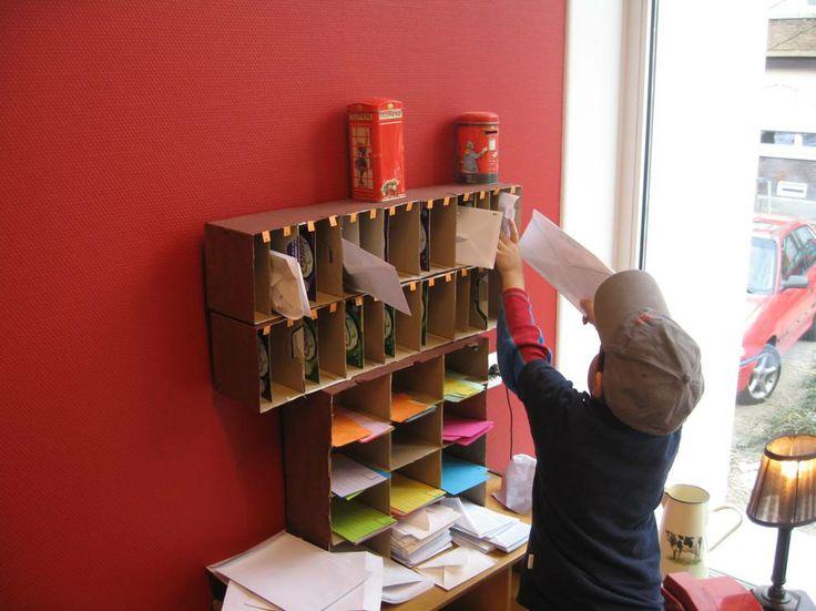 post sorteren Nutsschool Maastricht