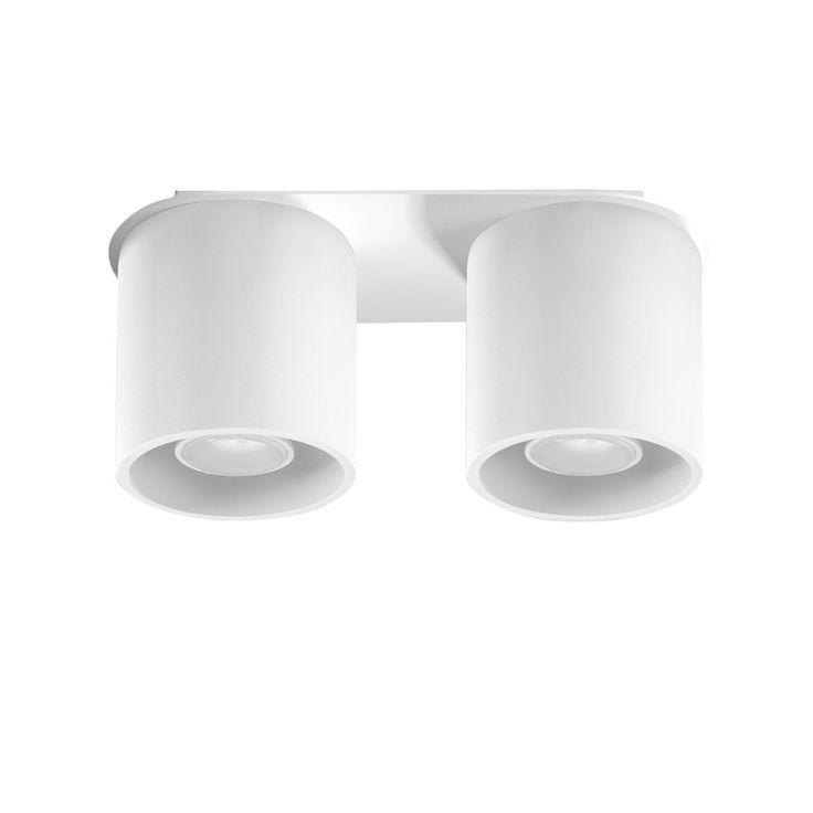 Bílé stropní světlo Nice Lamps Roda 2