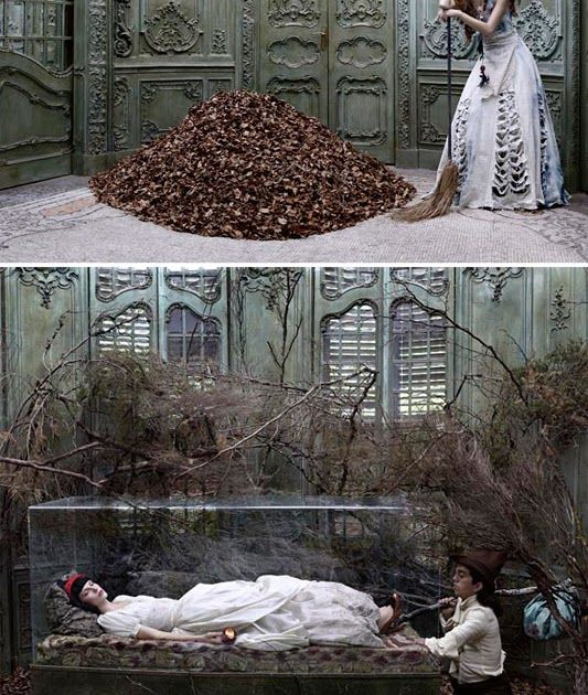 Happy Valentines Day everyone. Here's a little fairy tale romance from the amazing Eugenio Recuenco .