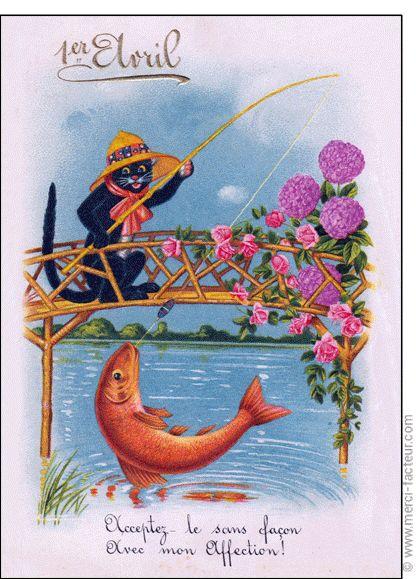 Joyeux 1er avril ! Profitez du 1er avril pour faire des farces à vos amis émoticône smile http://www.merci-facteur.com/cartes/rub32-1er-avril.html #poissondavril #1eravril #humour Carte P�che au poisson d'Avril pour envoyer par La Poste, sur Merci-Facteur !
