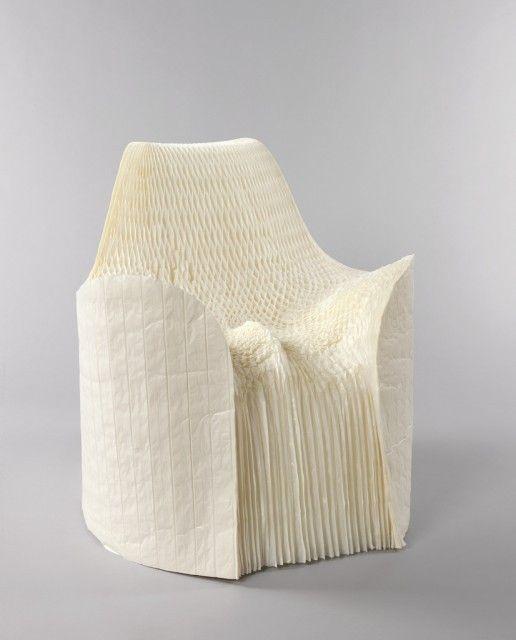 Honey Pop, chair. Designed by Tokujin Yoshioka(Japanese, b. 1967), Manufactured by Tokujin YoshiokaDesign. Japan, 2001.