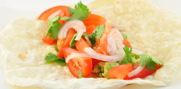 Salsa wrap tortillas
