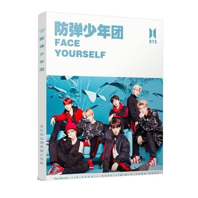 New Kpop BT21 Bts Bangtan Boys Face YOURSELF Photos Album Book