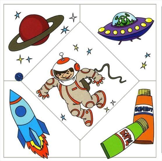 Astronauta Puzzle profesiones