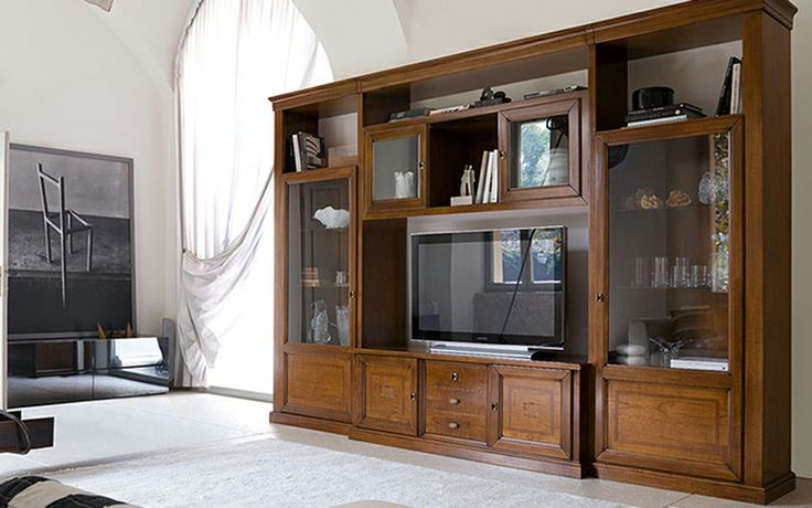 Parete attrezzata classica http://www.reitanoarredamenti.it/showroom