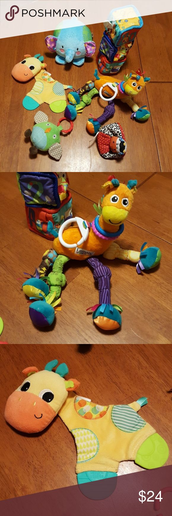 Baby Toys! Great gift items! Great baby toy lot! Many types of toys that crinkle, jingle and hang. Lamaze giraffe is a great fun toy for any baby. They are all in great condition! Ask any questions and make a fair offer ;) Lamaze Other