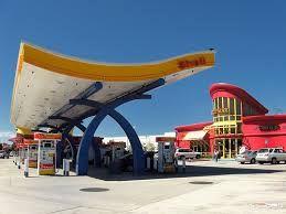 Shell Petrol Station