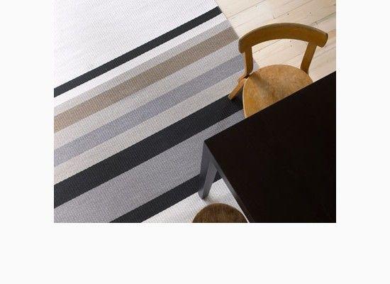 Eko koberec s pruhy