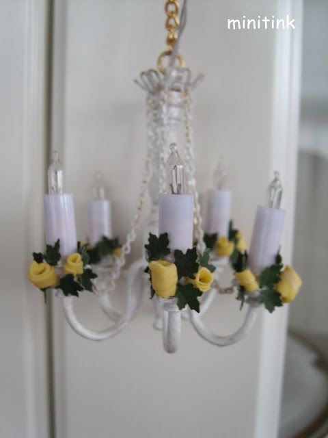 Minitink Tuneando How To Customise A Bought Chandelier Spanish