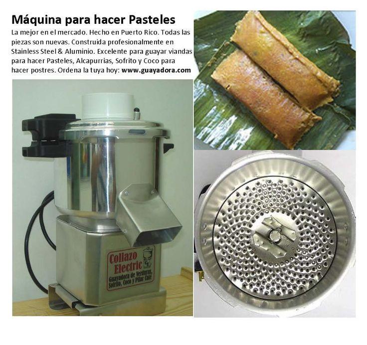 Maquina de Moler Vianda para hacer Masa de Pasteles / Alcapurrias Usos: Maquina para hacer Pasteles Puertorriqueños Guayar coco para hacer Dulce de Coco, Tembleque, etc...