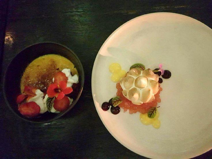 Desserts have been served.  Merah Putih