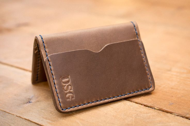 Driftwood 5 Card Leather Wallet