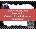 This website has a great lesson plan for the cause of the Industrial Revolution. This site would be great to use earlier in the week of our unit.