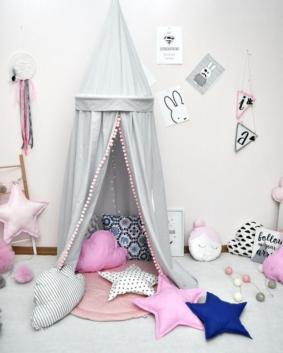 Baldachim Wiszacy Namiot Tipi 7542082337 Oficjalne Archiwum Allegro Toddler Bed Room Kids Room
