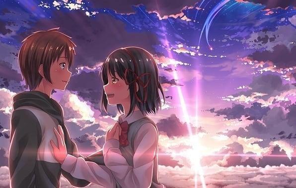 Wallpaper Anime Hd Couple 1920x1080 Best Hd Wallpapers Of Anime Full Hd Hdtv Fhd 1080p Desktop Backgrounds For Pc Mac Lap Gambar Anime Gambar Pasangan Animasi