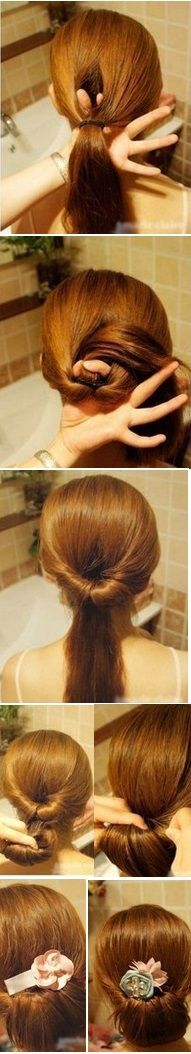 Gibson Tuck Hair Tutorial [video] fairly easy and very cute ^.^