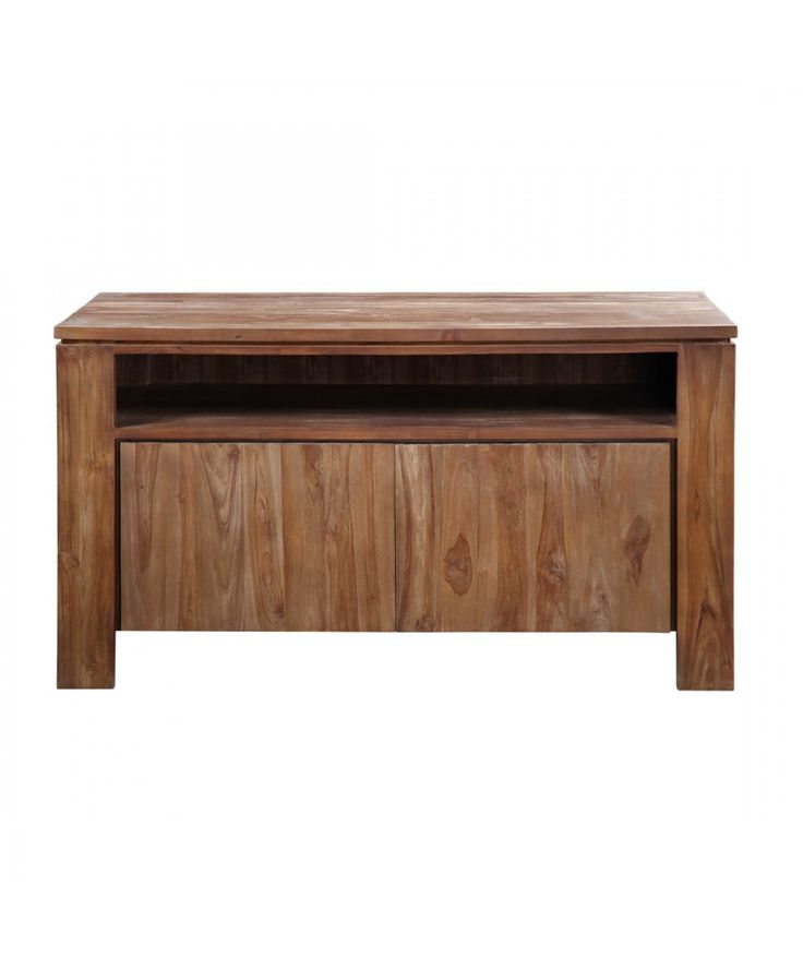 Classic - Teak 2 Door TV Cabinet | Home Office Furniture - Easterly