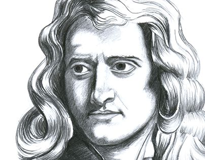 "Check out new work on my @Behance portfolio: ""Isaac Newton portrait 21x30cm"" http://be.net/gallery/38856445/Isaac-Newton-portrait-21x30cm"